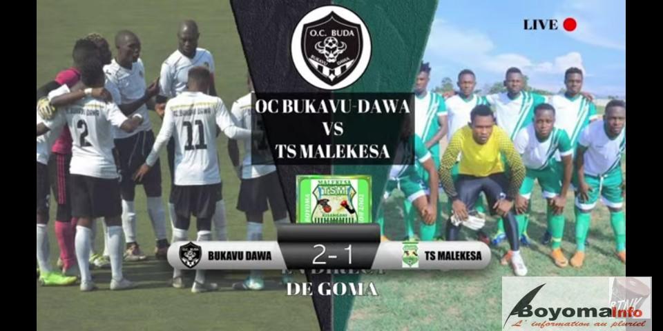 SPORT/ LINAFOOT Play Off zone EST : DIBA donne une première victoire à Bukavu Dawa