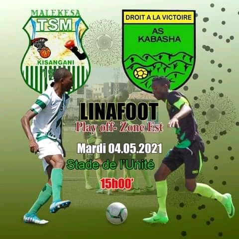 SPORT/ LINAFOOT Play off zone EST : Lumière coté Fc Dynamique, ténèbres du côté TS Malekesa.