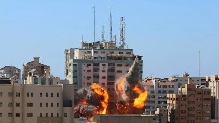 Moyen-Orient : Frappe israélienne sur l'immeuble des médias Al-Jazeera et Associated Press à Gaza(rfi.fr)